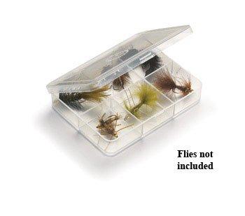 UMPQUA Myran 1060 - 6 Compartment Fly Box - Clear