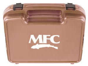 MONTANA FLY Mfc Boat Box - Burnt Orange - Large Foam