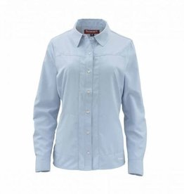 SIMMS SIMMS WOMENS ISLE SHIRT LS BLU CHILL L - ON SALE!