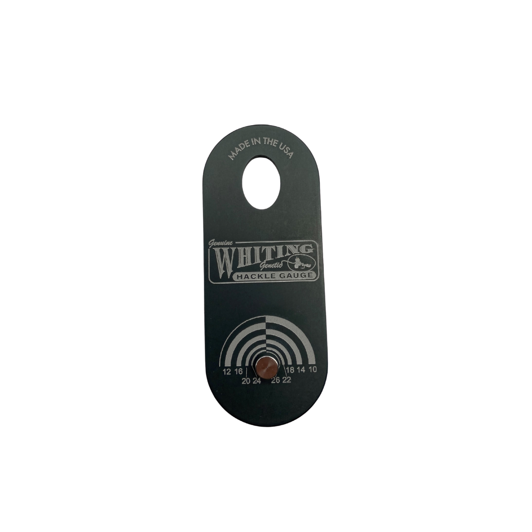WHITING FARMS, INC WHITING HACKLE GAUGE