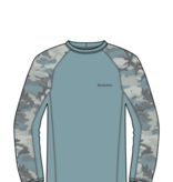 SIMMS SIMMS SOLARFLEX LONG SLEEVE CREWNECK - PRINT - ON SALE!!