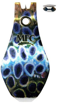 MONTANA FLY MFC TUNGSTEN CARBIDE WIDE GRIP NIPPER - UDESEN'S BROWN TROUT SKIN