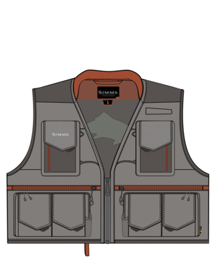 SIMMS SIMMS GUIDE VEST