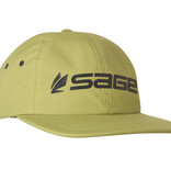 SAGE SAGE RELAXED NYLON HAT GREEN