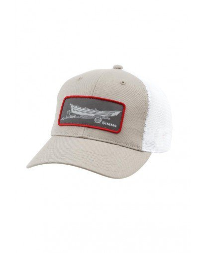 SIMMS SIMMS HIGH CROWN PATCH TRUCKER CAP