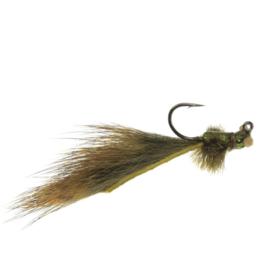 UMPQUA Mini Leech Damsel Jig - Olive