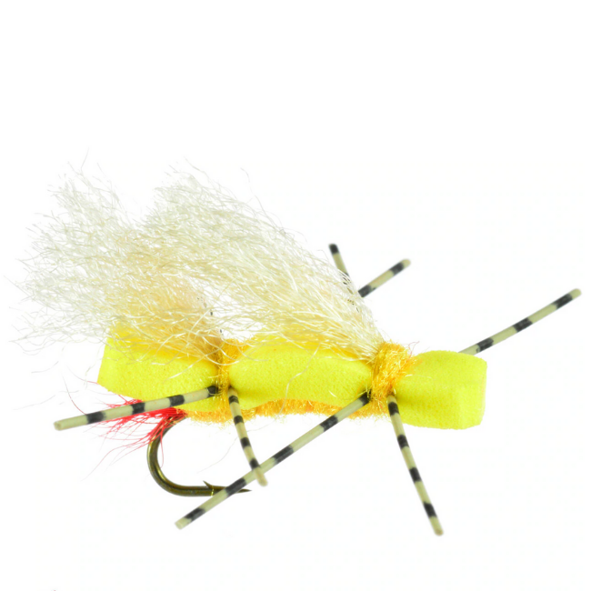 UMPQUA Chubby Sally - Yellow