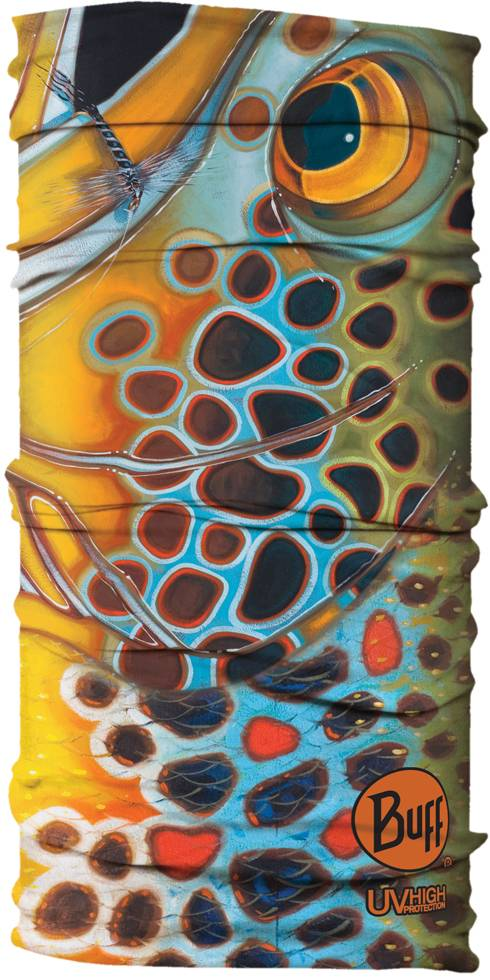 UV BUFF- DEYOUNG BROWN MOSQUITO