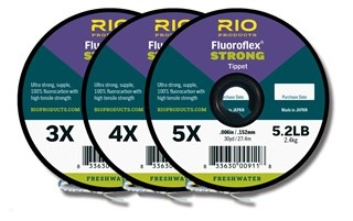 RIO PRODUCTS Rio Fluoroflex Strong 3-Pack 3X-5X