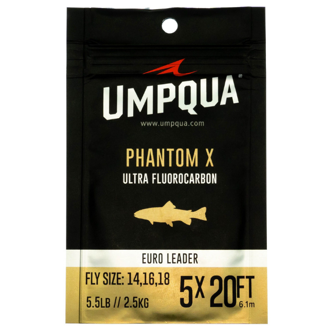 UMPQUA Phantom X Euro Nymph Leader - 20'