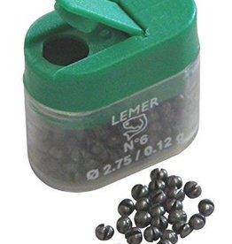 Lemer Lead Split Shot Refills