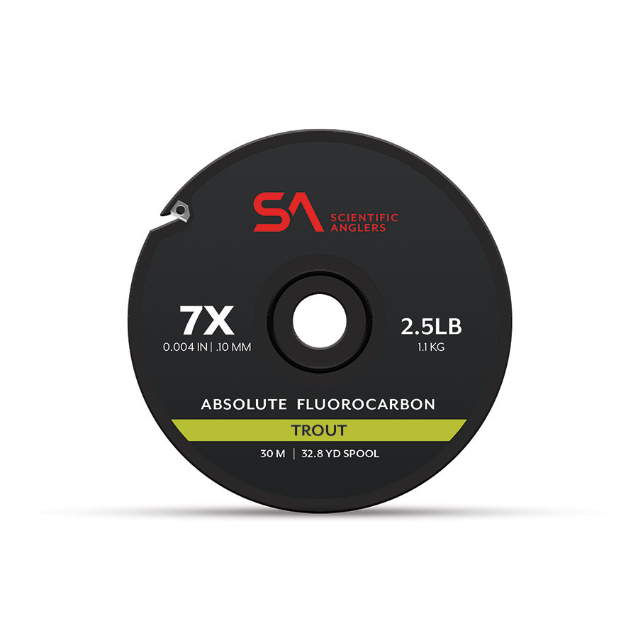 SCIENTIFIC ANGLERS Scientific Anglers Absolute Fluorocarbon Trout Tippet 30 Meters