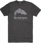 SIMMS Men's Wood Trout Fill T-Shirt