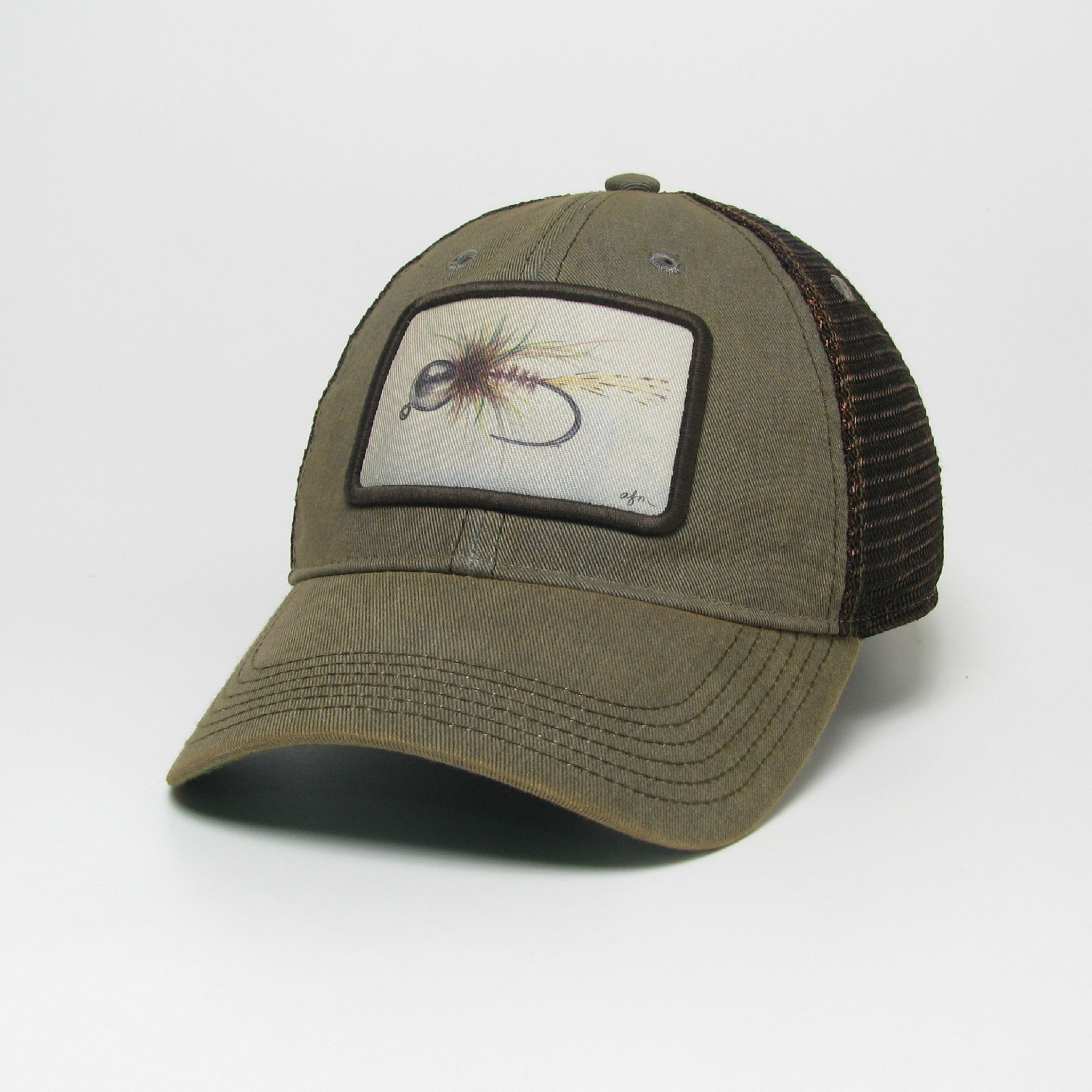 Midwest and Beyond Nymph Grey Greaser Old Favorite Trucker