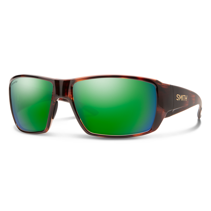 SMITH OPTICS SMITH Guides Choice Tortoise Frame/Chromapop Glass Polarized Green Mirror