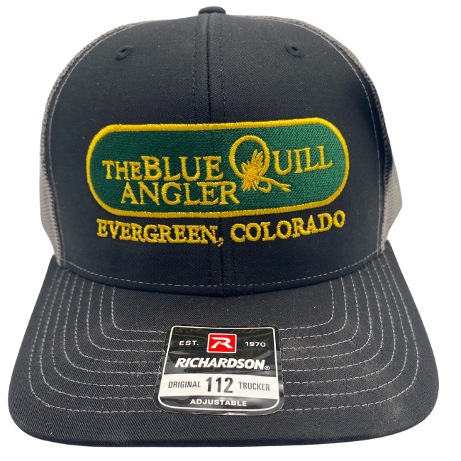 BLUE QUILL ANGLER BQA Logo Trucker (R-112) - Classic Logo