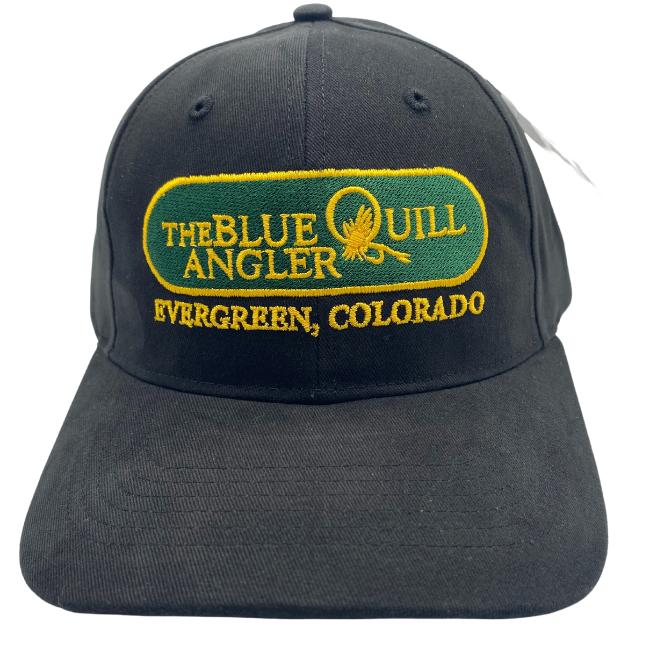 BLUE QUILL ANGLER BQA Logo Brushed Cotton Twill Cap (R-203) - Classic Logo