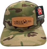 BLUE QUILL ANGLER BQA Logo Trucker (R-862) - Leather Patch