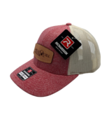 BLUE QUILL ANGLER BQA Logo Trucker - Small Fit (R-115) - Leather Patch
