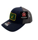 "BLUE QUILL ANGLER BQA Logo Trucker (R-112) - ""Q"" Logo Patch"