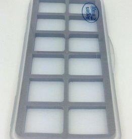 WAPSI ANGLERS IMAGE ULTRA THIN 12 COMPARTMENT MAG BASE FLY BOX