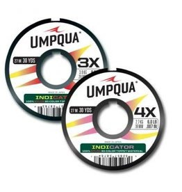 UMPQUA UMPQUA BICOLORED INDICATOR TIPPET - PINK/YELLOW