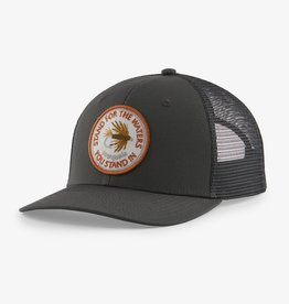 PATAGONIA PATAGONIA TAKE A STAND TRUCKER HAT FORGE GREY