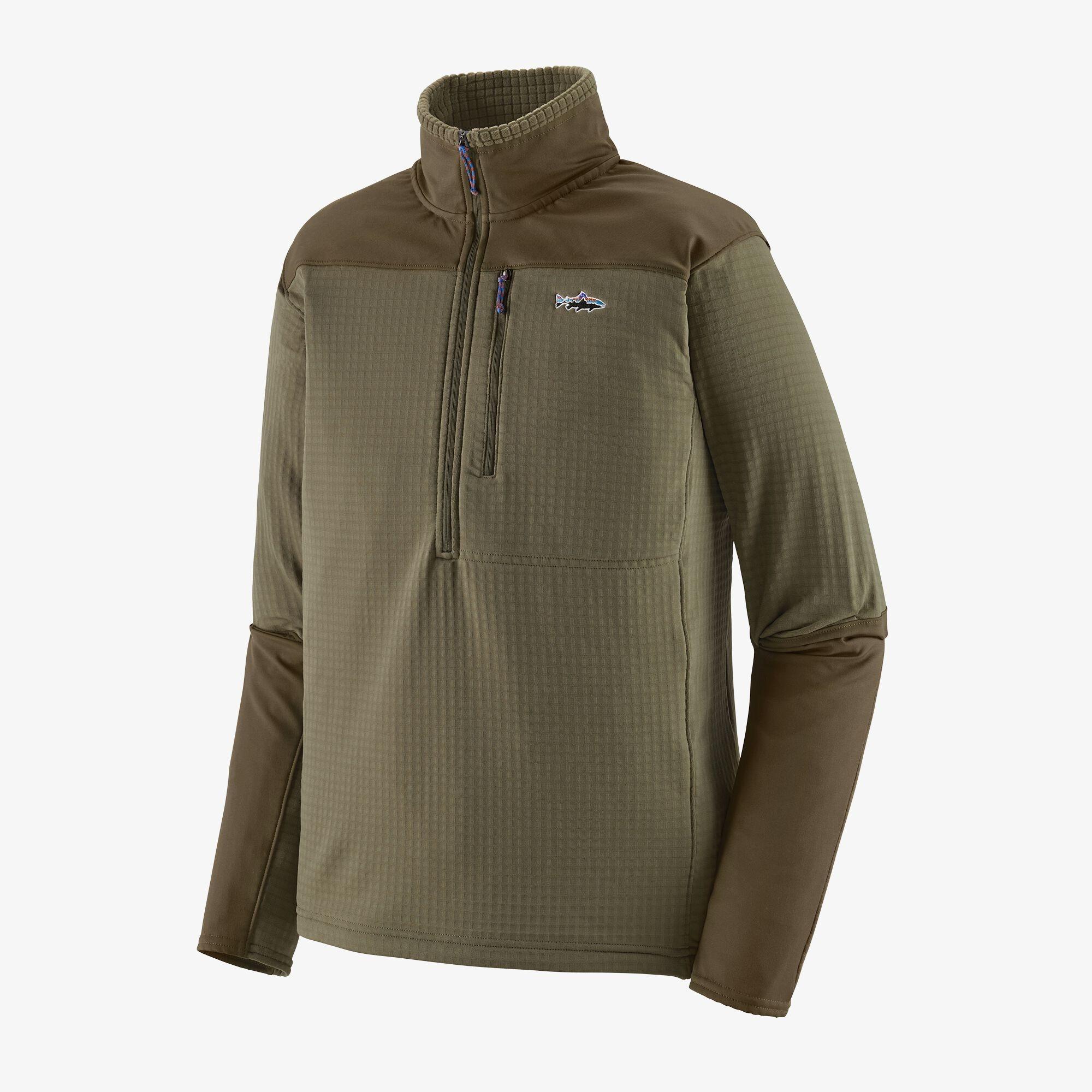 PATAGONIA Men's Long-Sleeved R1® Fitz Roy 1/4-Zip