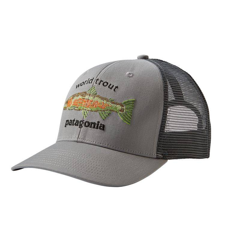 fd2922632a4 PATAGONIA PATAGONIA WORLD TROUT FISHSTITCH TRUCKER - ON SALE!