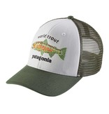 PATAGONIA PATAGONIA WORLD TROUT FISHSTITCH TRUCKER - ON SALE!!