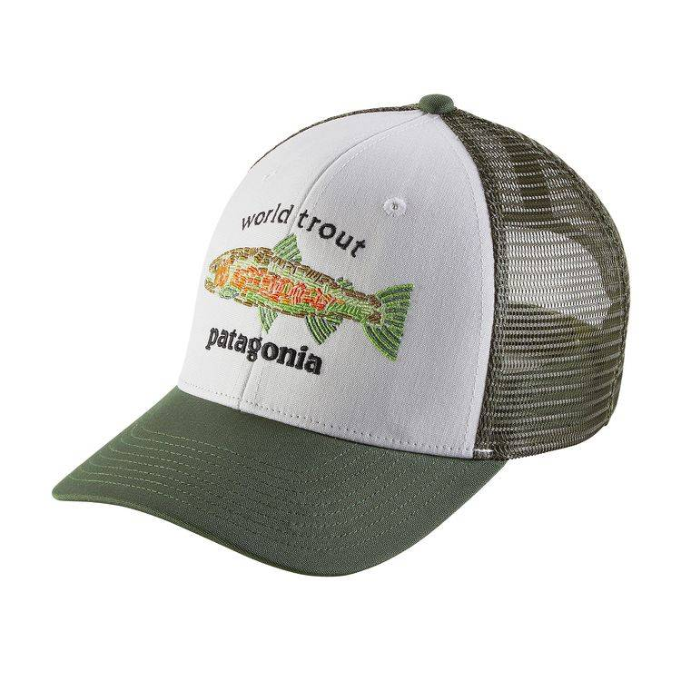PATAGONIA PATAGONIA WORLD TROUT FISHSTITCH TRUCKER - ON SALE! 618537c2140