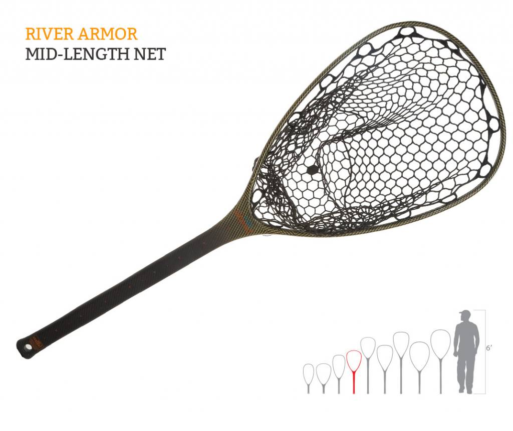 FISHPOND Fishpond Nomad Mid-Length Net - River Armor