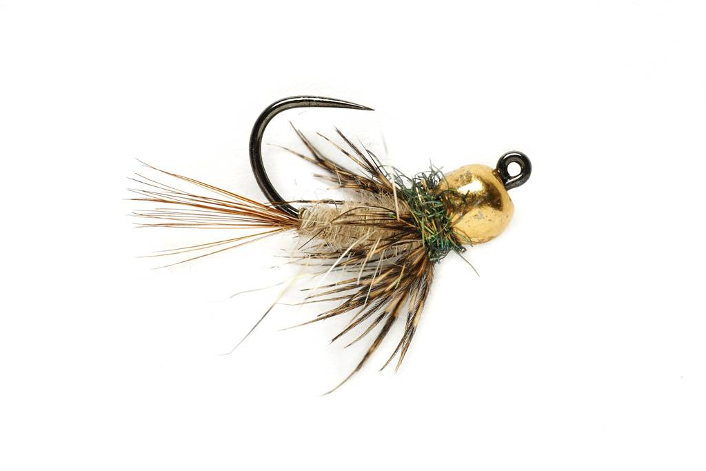 SOFT HACKLE HARES EAR JIG NYMPH