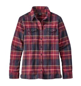 PATAGONIA PATAGONIA WOMENS LONG-SLEEVED FJORD FLANNEL SHIRT - ON SALE!!