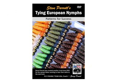 TYING EUROPEAN NYMPHS - PATTERNS FOR SUCCESS - PARROTT