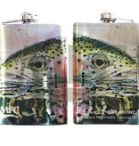 MONTANA FLY Mfc Stainless Steel Hip Flask - Sylvester'S Rainbow Reflection