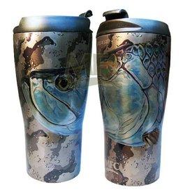 MONTANA FLY Mfc Vacuum Coffee Mug - Udesen'S Tarpon Head