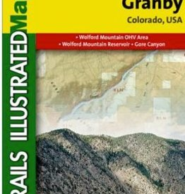 NATIONAL GEOGRAPHIC NATIONAL GEOGRAPHIC TOPO MAP #106 - Kremmling/Granby