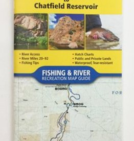 NATIONAL GEOGRAPHIC NATIONAL GEOGRAPHIC RIVER MAP - SOUTH PLATTE RIVER