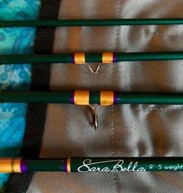 SARABELLA Sarabella 9' - 5 Weight - 4 Piece - Sparkly Dark Green