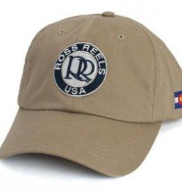 ROSS REELS Ross Reels Lightweight Twill Hat - Khaki