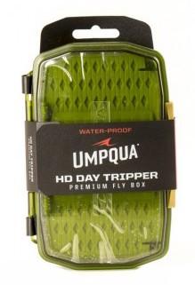 UMPQUA UPG HD MEDIUM DAYTRIPPER FLY BOX - OLIVE