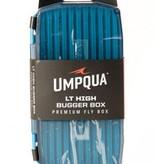 UMPQUA Umpqua Upg Lt High Bugger Fly Box - Blue