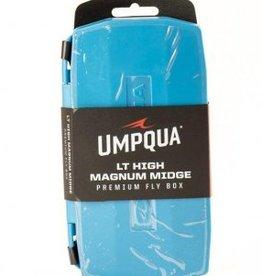 UMPQUA UMPQUA UPG LT HIGH MAGNUM MIDGE FLY BOX - BLUE
