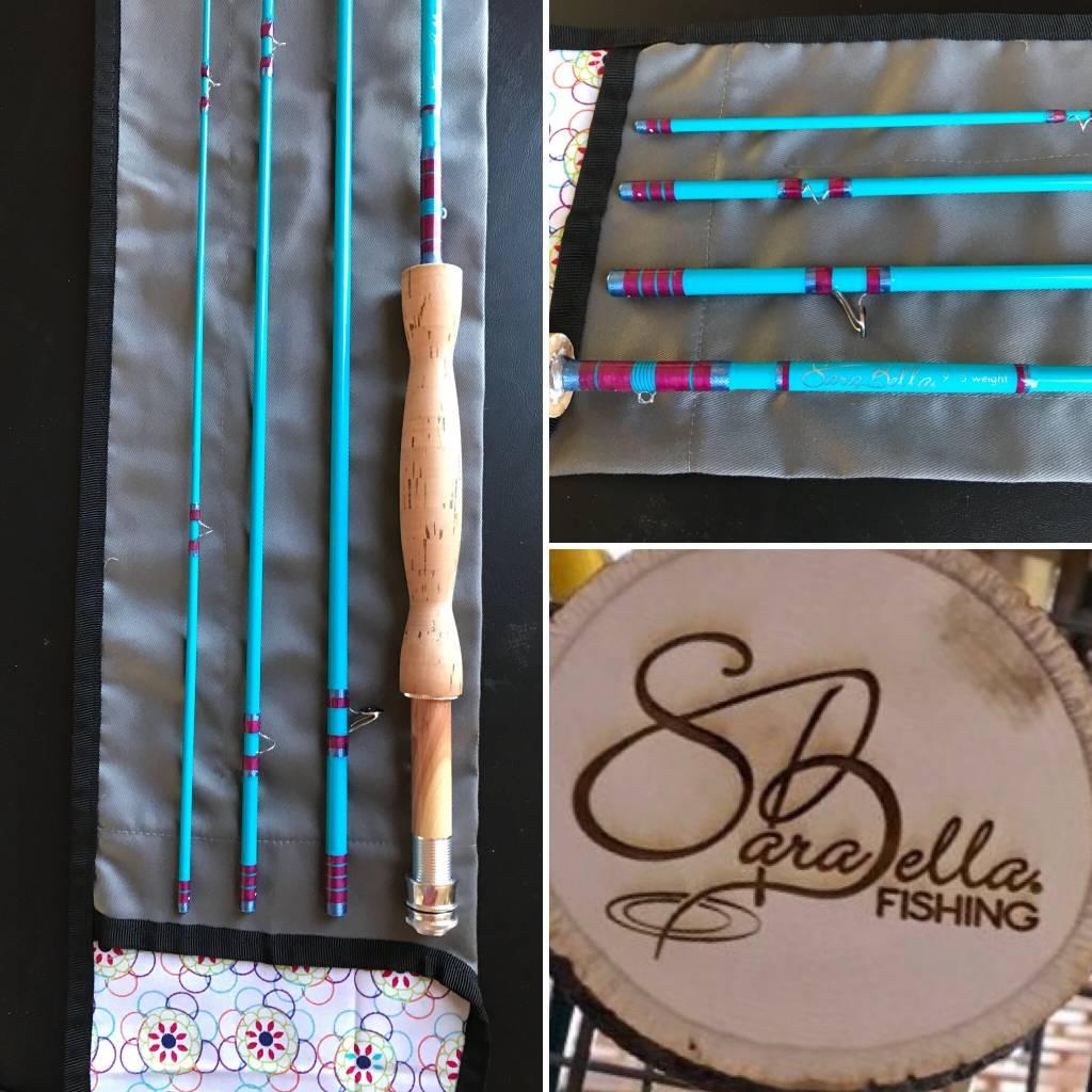 SARABELLA SARABELLA 9' - 5 WEIGHT - 4 PIECE - TEAL