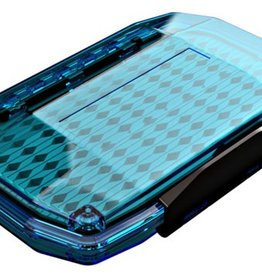 UMPQUA UPG HD LARGE MAGNUM MIDGE FLY BOX - BLUE