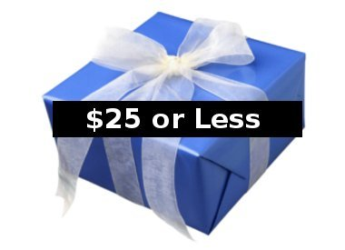 Gifts $25 or Less