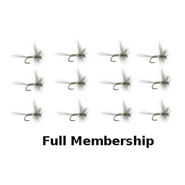 12 Flies Per Month For A Year Membership