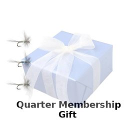BLUE QUILL ANGLER 3 Flies Per Month  - Give As Gift
