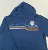 BLUE QUILL ANGLER BQA LOGO CONFLUENCE HOODY - ON SALE!